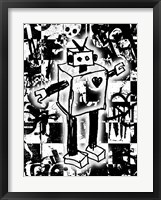 Framed Robot Graffiti