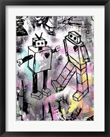 Framed Robot Love Color