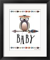 Framed Owl Baby