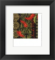 Framed Chiles Ancho