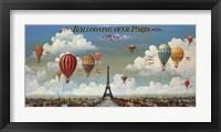 Framed Ballooning Over Paris