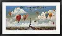 Framed Ballooning Over Paris