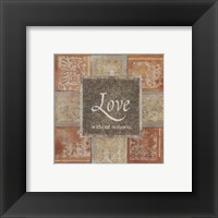 Framed Love Without Remorse