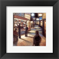 Framed News Stand (Art Dreams)