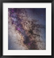 Framed Center of the Milky Way in Sagittarius and Scorpius