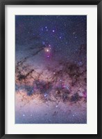 Framed Scorpius with parts of Lupus and Ara regions of the southern Milky Way