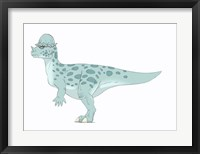 Framed Pachycephalosaurus