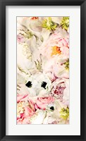 Bouquet Fluffy I Framed Print