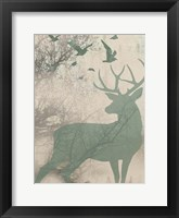 Deer Solace I Framed Print