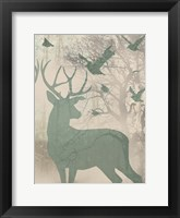Deer Solace II Framed Print