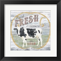 Farm Supply IV Framed Print