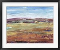 Terra Vista I Framed Print