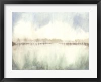 Mid Morning Mist I Framed Print