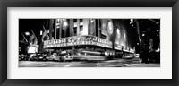 Framed Manhattan, Radio City Music Hall, NYC, NY