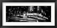 Framed Radio City Music Hall, Rockefeller Center, Manhattan, NY
