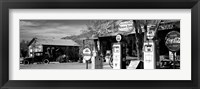 Framed Store with a gas station on the roadside, Route 66, Hackenberry, Arizona