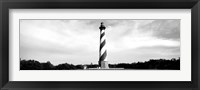 Framed Cape Hatteras Lighthouse, Outer Banks, Buxton, North Carolina