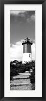 Framed Nauset Lighthouse, Nauset Beach, Eastham, Cape Cod, Massachusetts