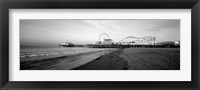 Framed Santa Monica Pier, California