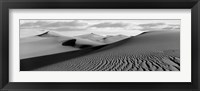 Framed Sand dunes in a desert, Great Sand Dunes National Park, Colorado