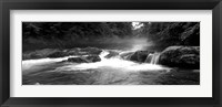 Framed Little Pigeon River, Great Smoky Mountains National Park,North Carolina, Tennessee,