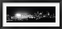 Framed Heinz Field, Three Rivers Stadium, Pittsburgh, Pennsylvania