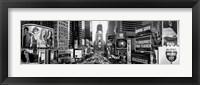 Framed Dusk, Times Square, NYC, NY