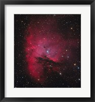 Framed NGC 281, the Pacman Nebula