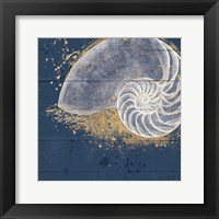 Calm Seas IX Framed Print