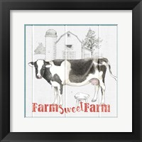 Farm To Table IV Framed Print