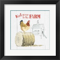 Farm To Table V Framed Print