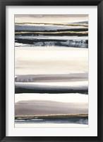 Gilded Grey III Framed Print