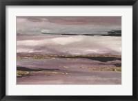Gilded Storm III Framed Print