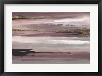 Gilded Storm IV Framed Print