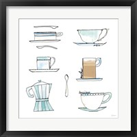 Good Brew XII Framed Print
