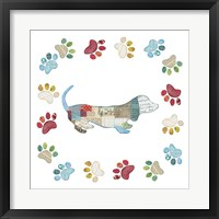 Good Dog III Framed Print