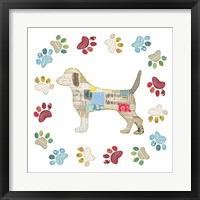 Good Dog IV Framed Print