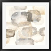 Neutral Stones IV Framed Print