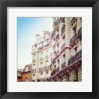 Paris Moments III Framed Print