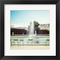 Paris Moments V Framed Print