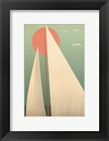 Sails III Framed Print
