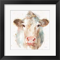 Farm Friends II Framed Print