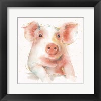 Farm Friends III Framed Print