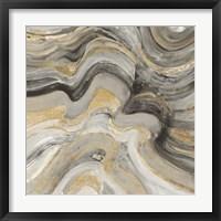 Floating Lava Neutral Framed Print