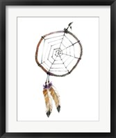 Indian Dreamcatcher Framed Print