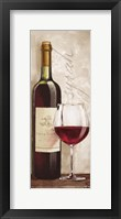 Wine in Paris VI Framed Print