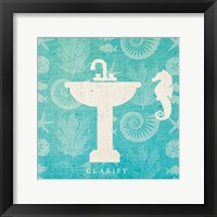 Pacific Bath II Framed Print