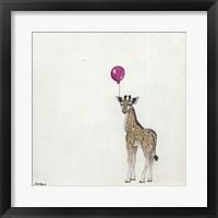Framed Nursery Giraffe II