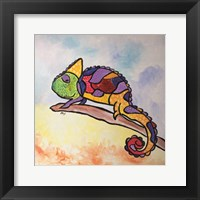 Framed Colorful Creature