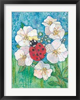 Framed Cheryl's Ladybug